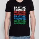 koszulka czarna brzydak warmiński