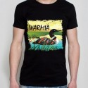 koszulka czarna warmiński perkoz