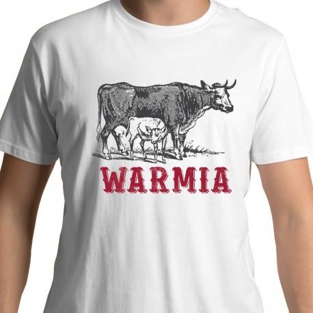 koszulka Warmia Krowy