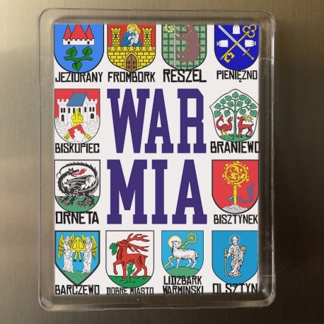 magnes Warmia herby