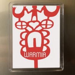 magnes Warmia kracki czerwone