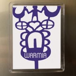 magnes Warmia kracki niebieskie