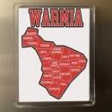magnes Warmia mapa gmin