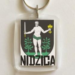 brelok herb Nidzica