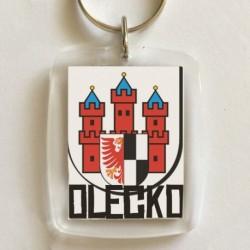 brelok herb Olecko