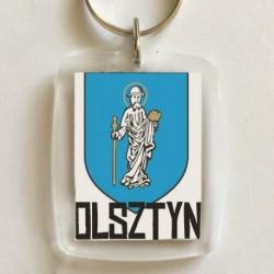 brelok herb Olsztyn