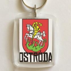 brelok herb Ostróda