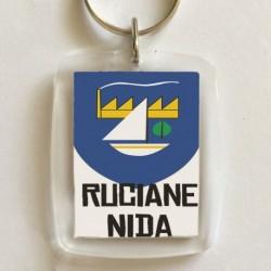 brelok herb Ruciane-Nida