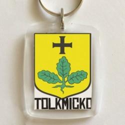 brelok herb Tolkmicko