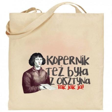 torba Kopernik też była z Olsztyna