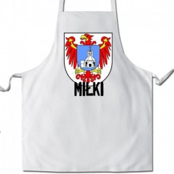 fartuch herb gmina Miłki