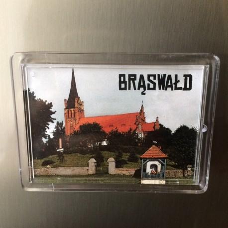 magnes akrylowy Brąswałd