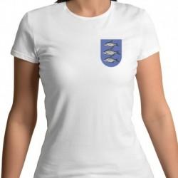 koszulka damska - Giżycko