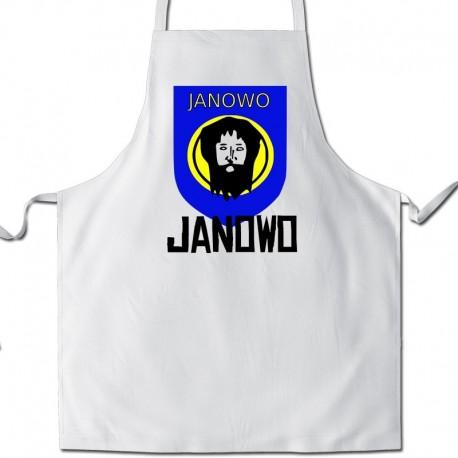 fartuch herb gmina Janowo