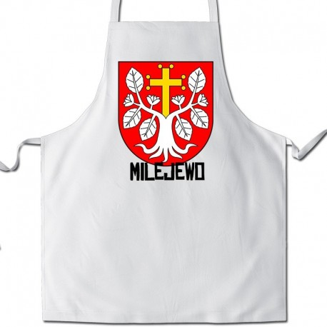 fartuch herb gmina Milejewo