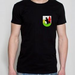 koszulka czarna - gmina Bobrowice
