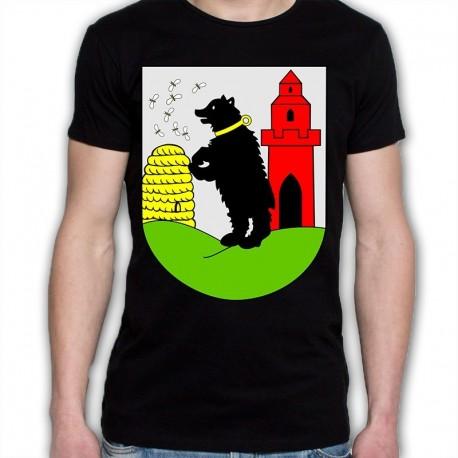 koszulka czarna gmina Bobrowice