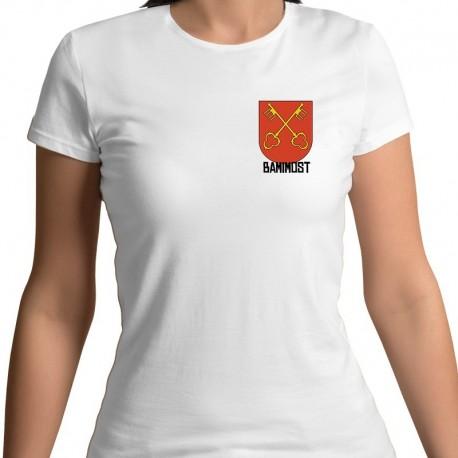koszulka damska - herb Bamimost