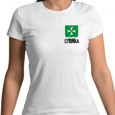 koszulka damska - herb Cybinka