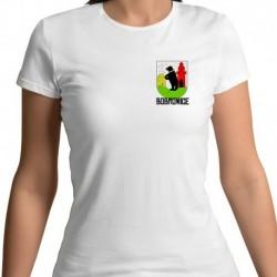 koszulka damska - herb gmina Bobrowice