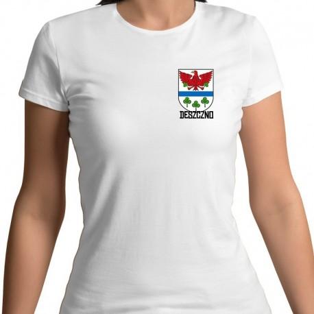 koszulka damska - herb gmina Deszczno