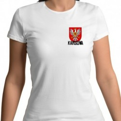 koszulka damska - herb Kargowa