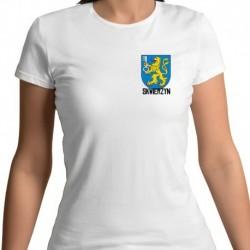 koszulka damska - herb Skwierzyn