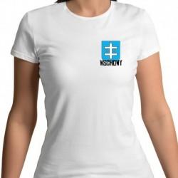 koszulka damska - herb Wschowy