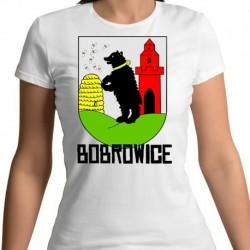 koszulka damska herb gmina Bobrowice
