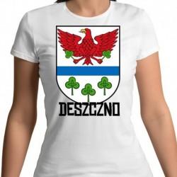 koszulka damska herb gmina Deszczno
