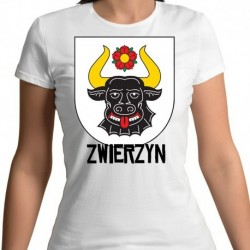 koszulka damska herb gmina Zwierzyn