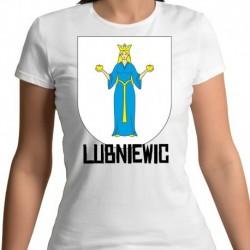 koszulka damska herb Lubniewic