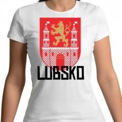 koszulka damska herb Lubsko