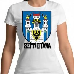 koszulka damska herb Szprotawa