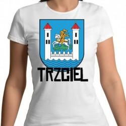 koszulka damska herb Trzciel