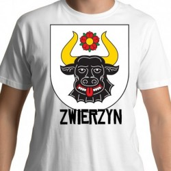 koszulka herb gmina Zwierzyn