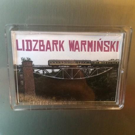 magnes akrylowy Lidzbark Warmiński