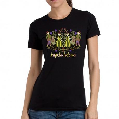 koszulka czarna kapela ludowa
