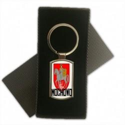 brelok metalowy herb gmina Mochowo