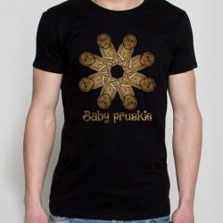 koszulka czarna baby pruskie