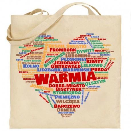 torba serce Warmia