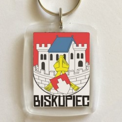 brelok Biskupiec herb