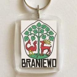 brelok Braniewo herb
