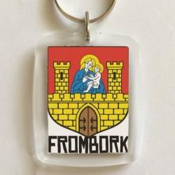 brelok Frombork herb