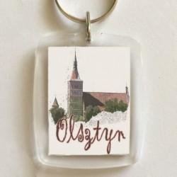brelok Olsztyn katedra
