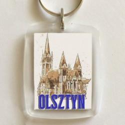 brelok Olsztyn kościół Serca