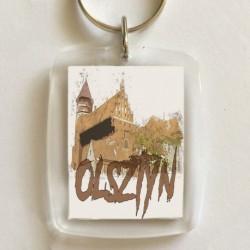 brelok Olsztyn widok na zamek