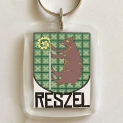 brelok Reszel herb
