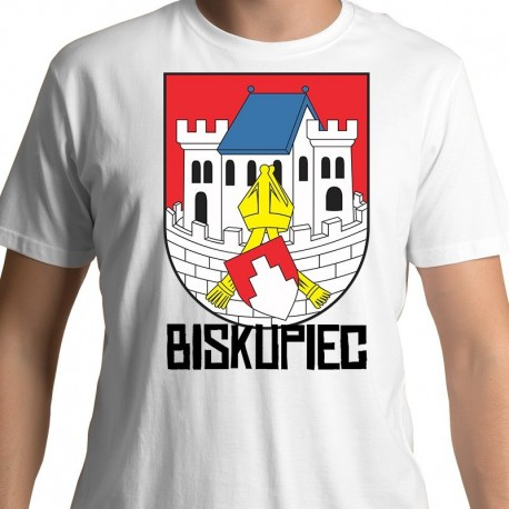 koszulka Biskupiec herb