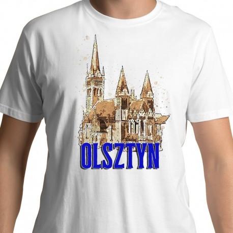 koszulka Olsztyn kościół Serca